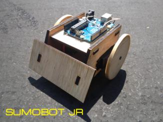 Laser Cut Sumobot