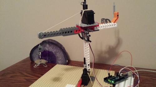 Lego Arduino Crane